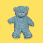 12&quot; blue bear